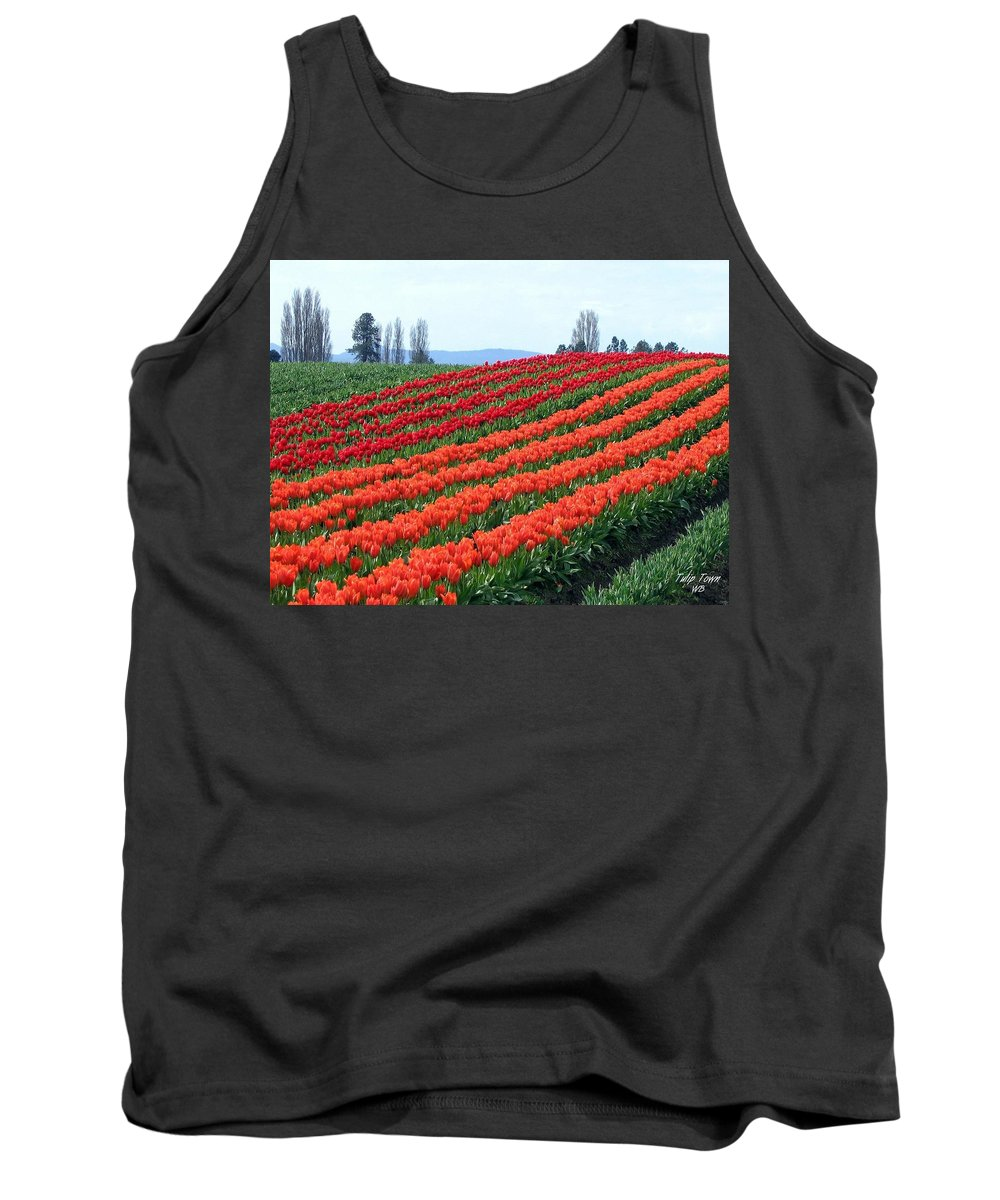 Agriculture Tank Top featuring the photograph Tulip Town 18 by Will Borden