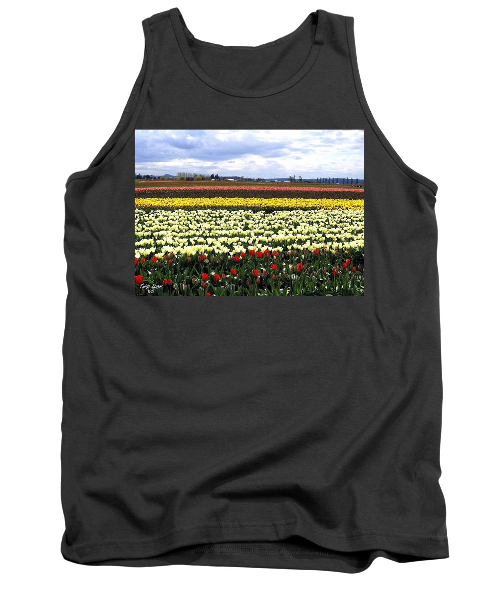 Agriculture Tank Top featuring the photograph Tulip Town 4 by Will Borden