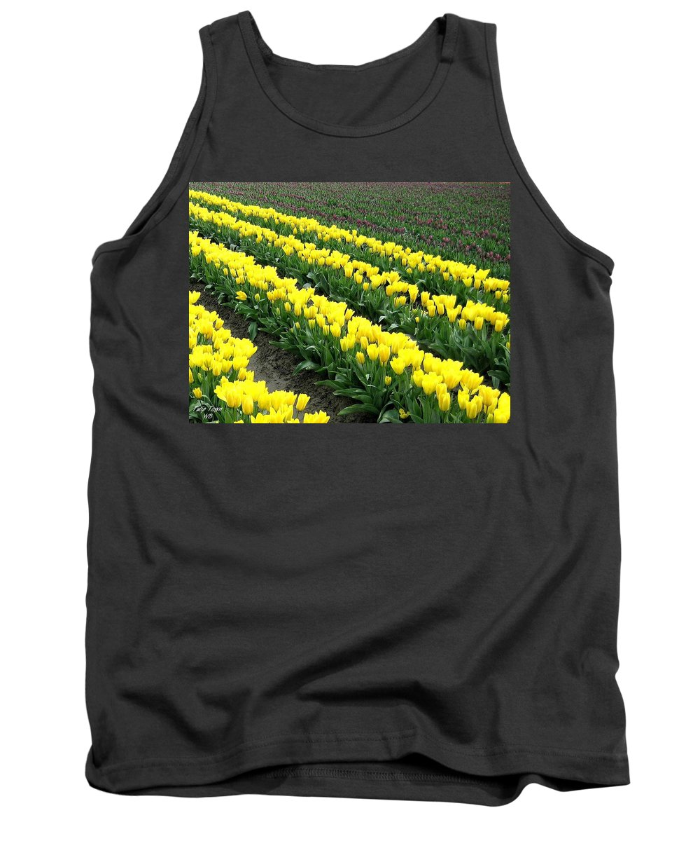 Agriculture Tank Top featuring the photograph Tulip Town 9 by Will Borden