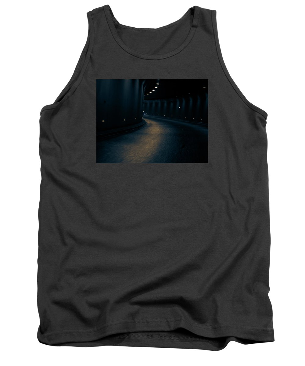 Tunnel Tank Top featuring the photograph Tunnel by Indrek Laanetu