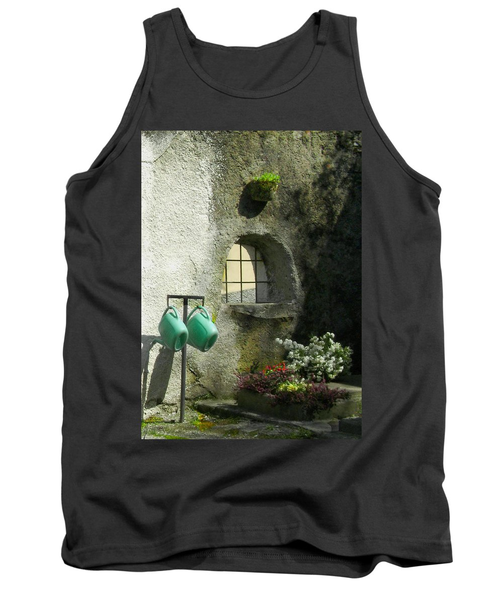 Italy Tank Top featuring the photograph Tuscan Afternoon by Lynn Andrews