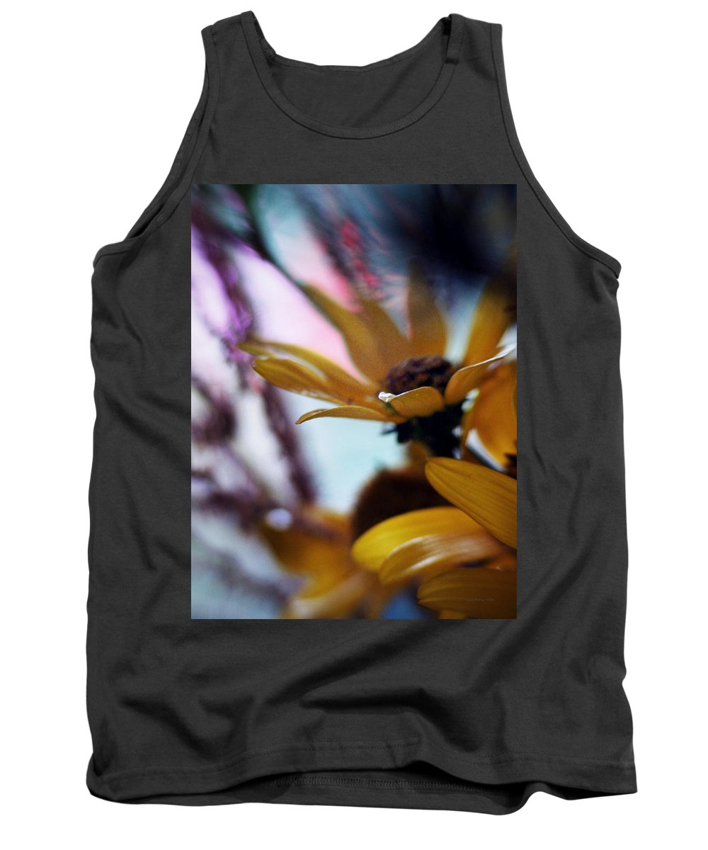 Flowers Tank Top featuring the photograph Twilight... by Arthur Miller