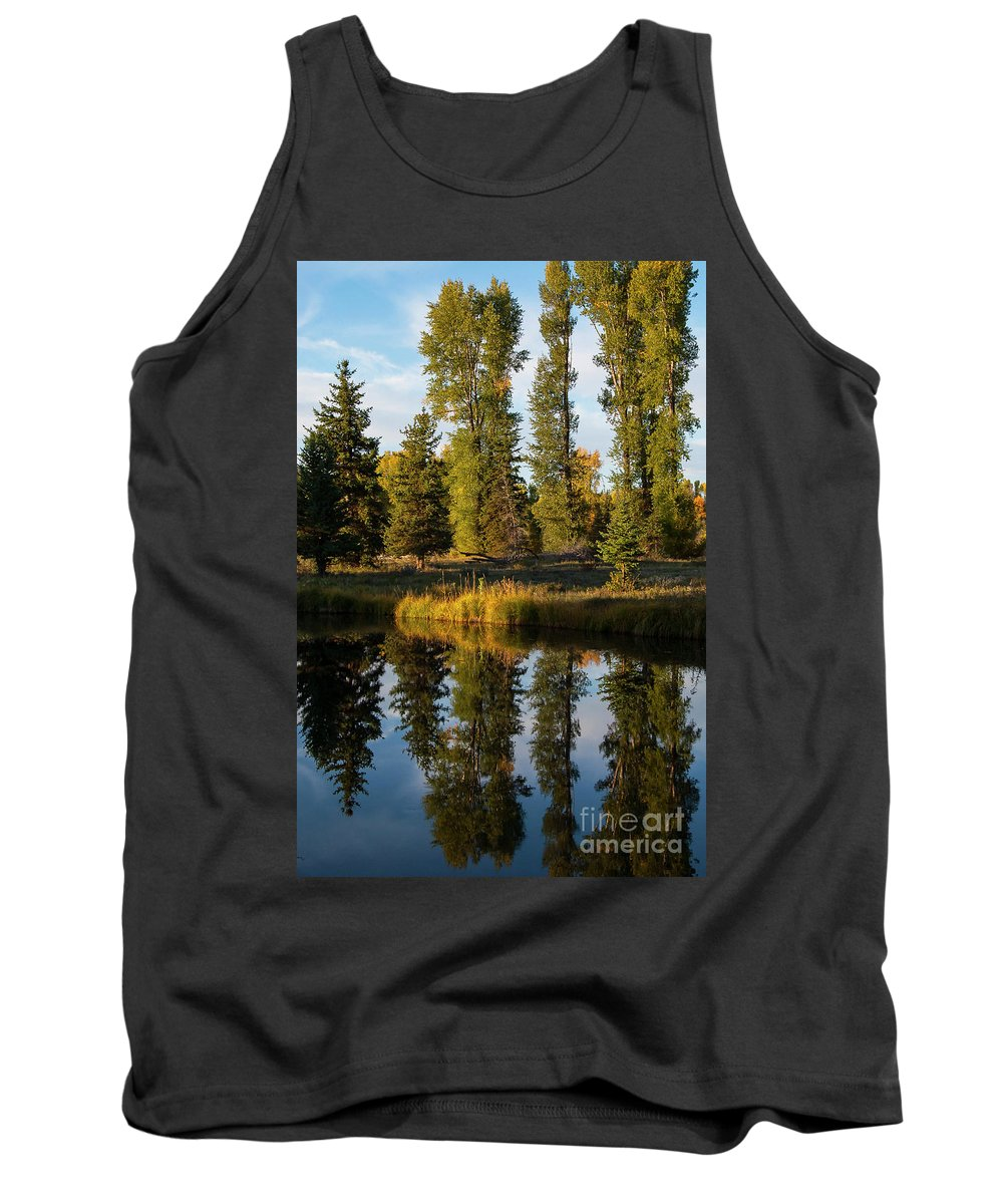 Schwabacher's Landing Tank Top featuring the photograph Two For One by Bob Phillips