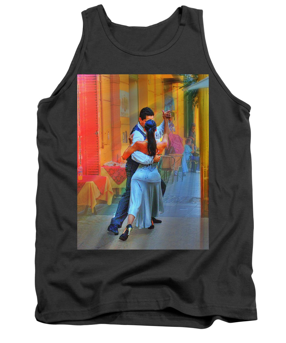 Dance Tank Top featuring the photograph Two Tango by Francisco Colon