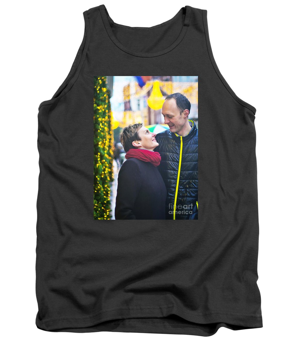 Engagement Tank Top featuring the photograph Ula And Wojtek Engagement 9 by Alex Art and Photo