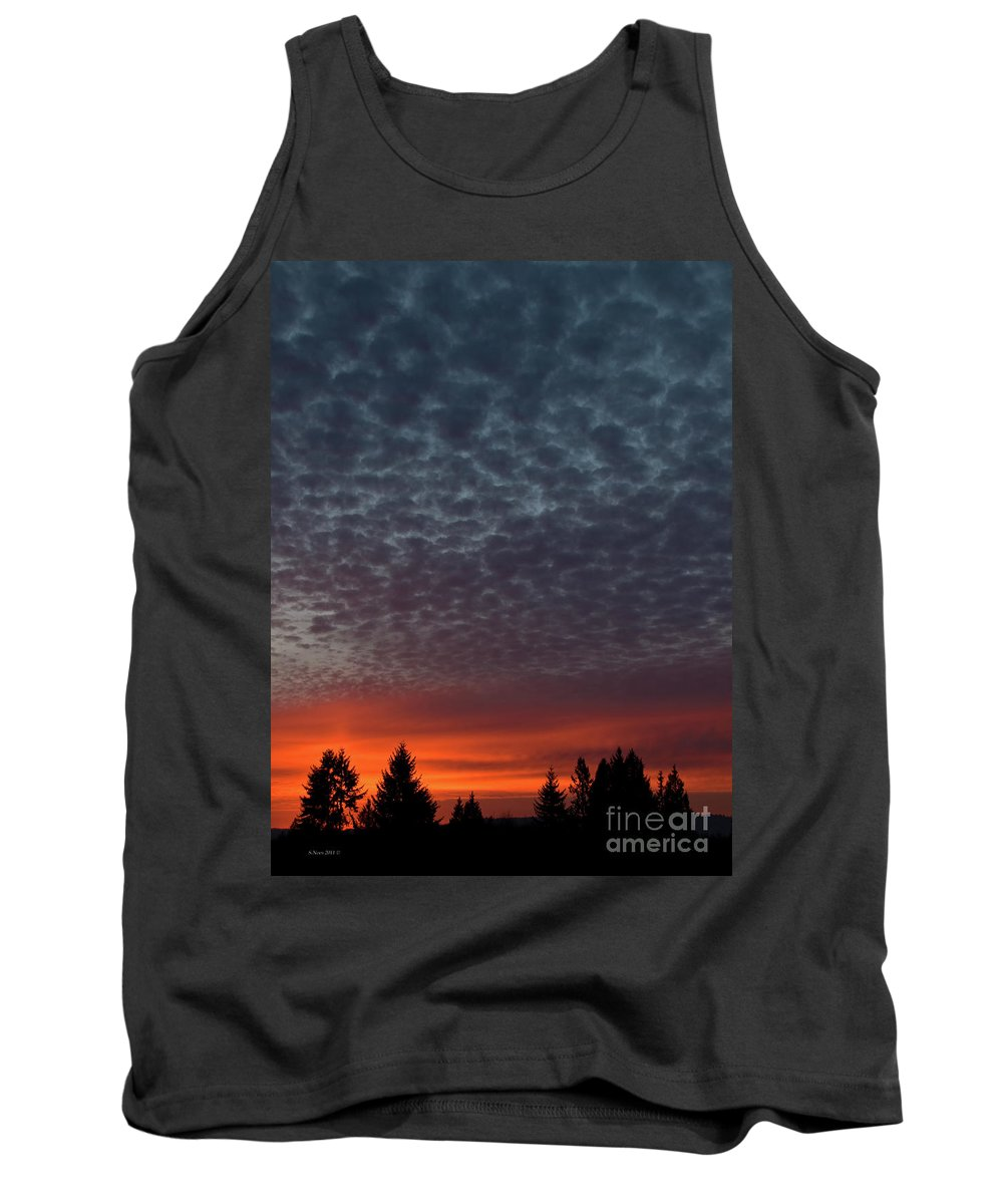 Sunset Tank Top featuring the photograph Under The Sea by Shari Nees
