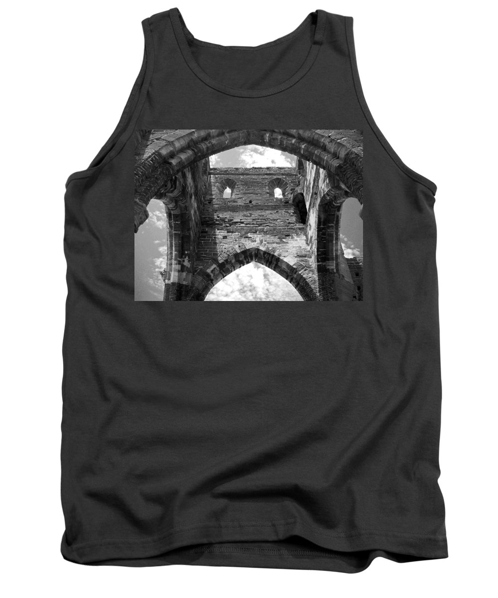 Bermuda Tank Top featuring the photograph Unfinished Church by Julia Raddatz