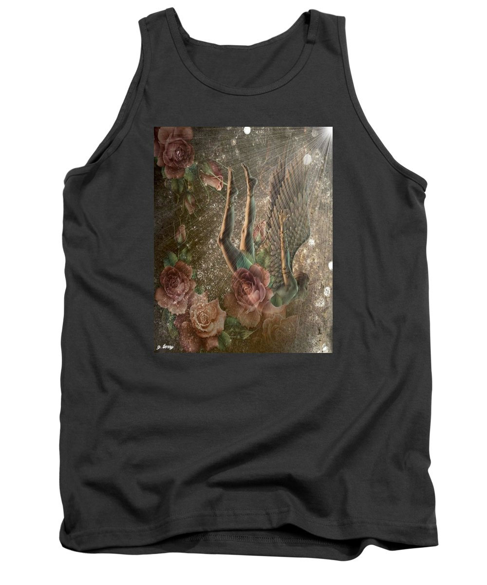Angel Tank Top featuring the photograph Unicorn Angel 2 by G Berry