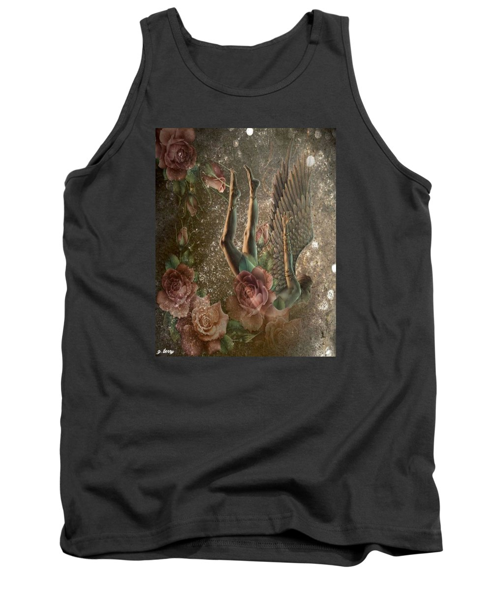 Angel Tank Top featuring the photograph Unicorn Angel by G Berry