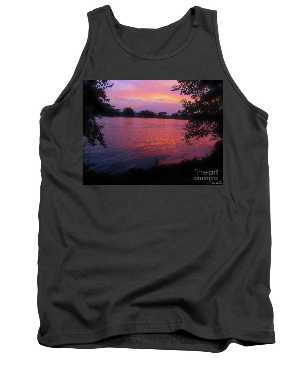 Sunset Tank Top featuring the photograph Until December by September Stone