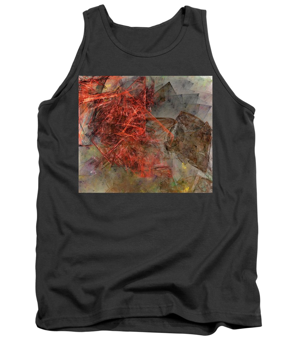 Digital Painting Tank Top featuring the digital art Untitled 01-15-10-a by David Lane