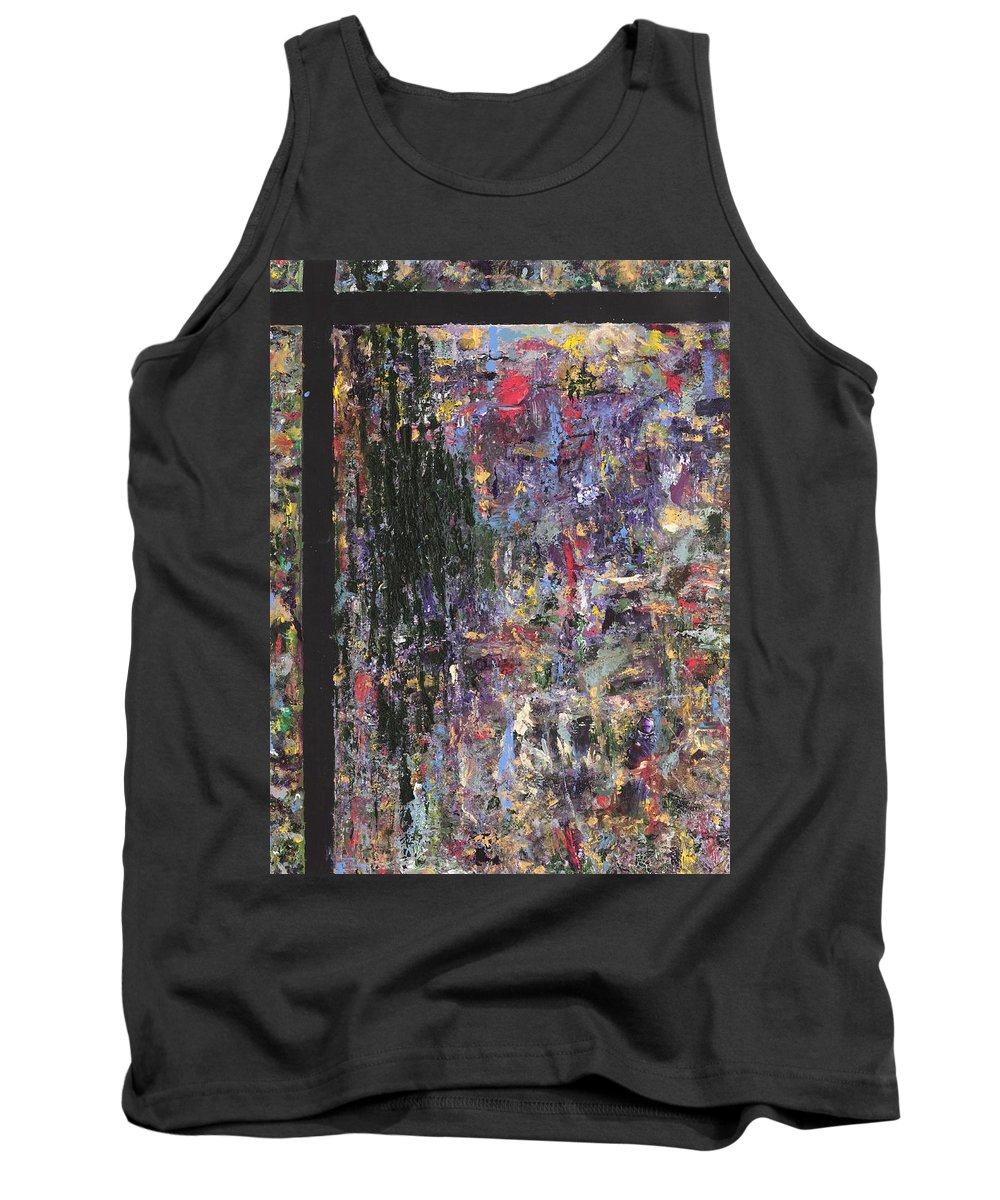 Abstract Painting Tank Top featuring the painting Untitled by Jaime Becker