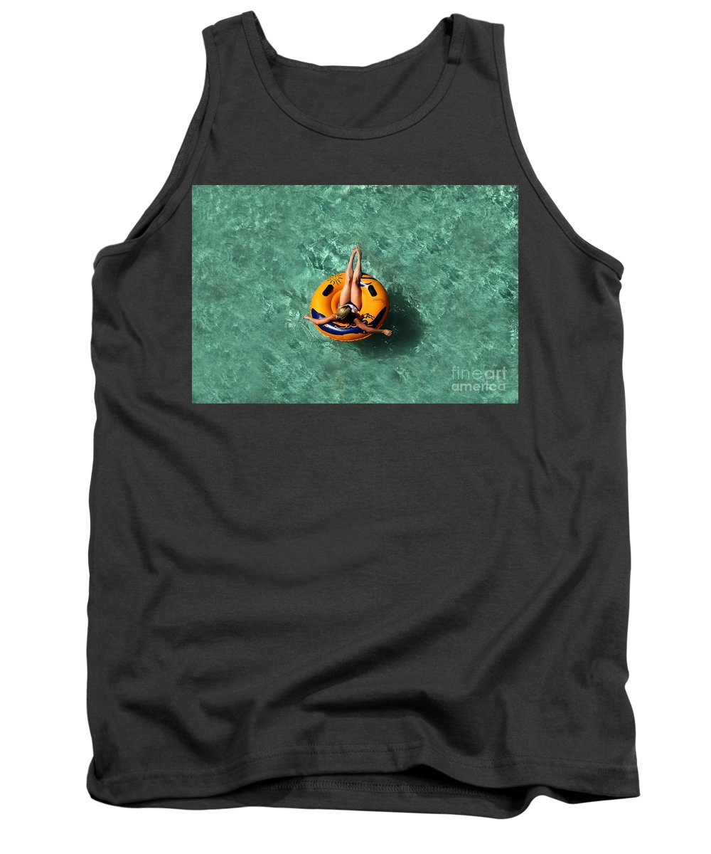Vacation Tank Top featuring the photograph Vacation by David Lee Thompson