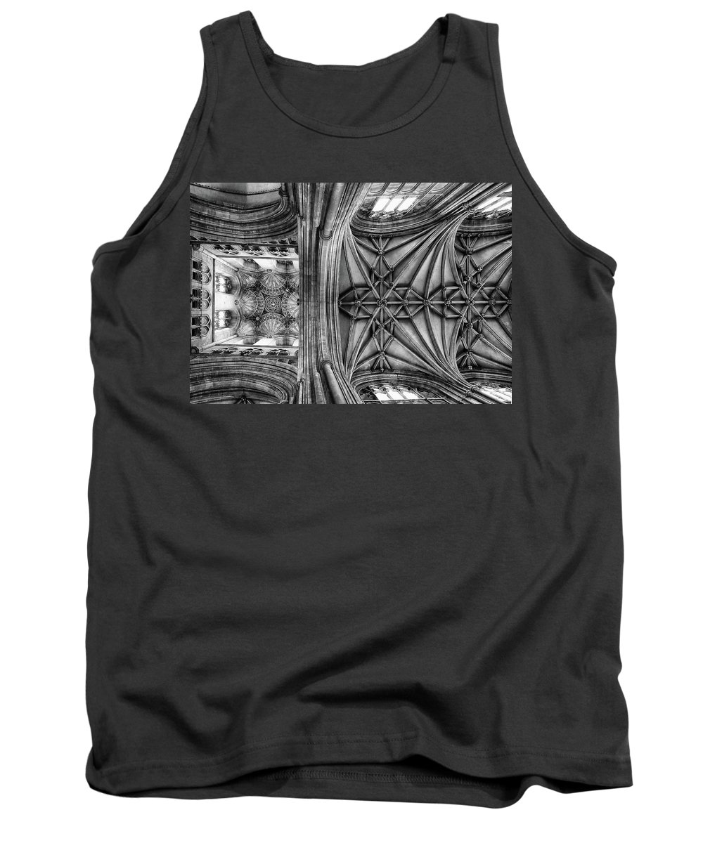 Canterbury Tank Top featuring the photograph Vaulted by Philip Openshaw