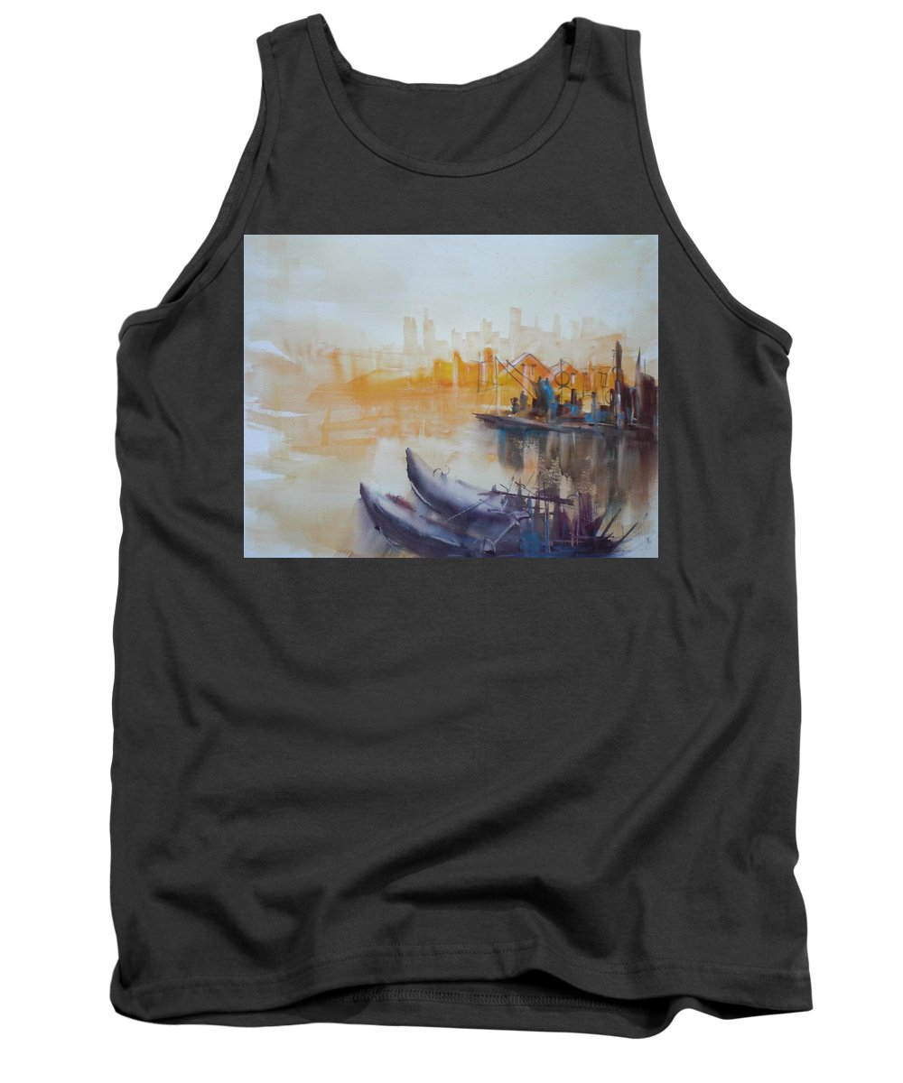 Venice Tank Top featuring the painting Venice by Giorgio Gosti
