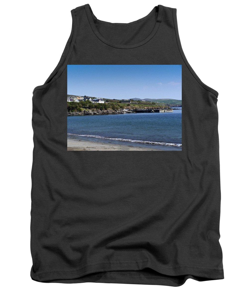 Irish Tank Top featuring the photograph Ventry Beach And Harbor Ireland by Teresa Mucha