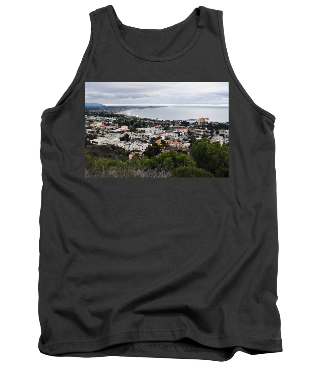 Ventura Tank Top featuring the photograph Ventura Coast Skyline by Kyle Hanson
