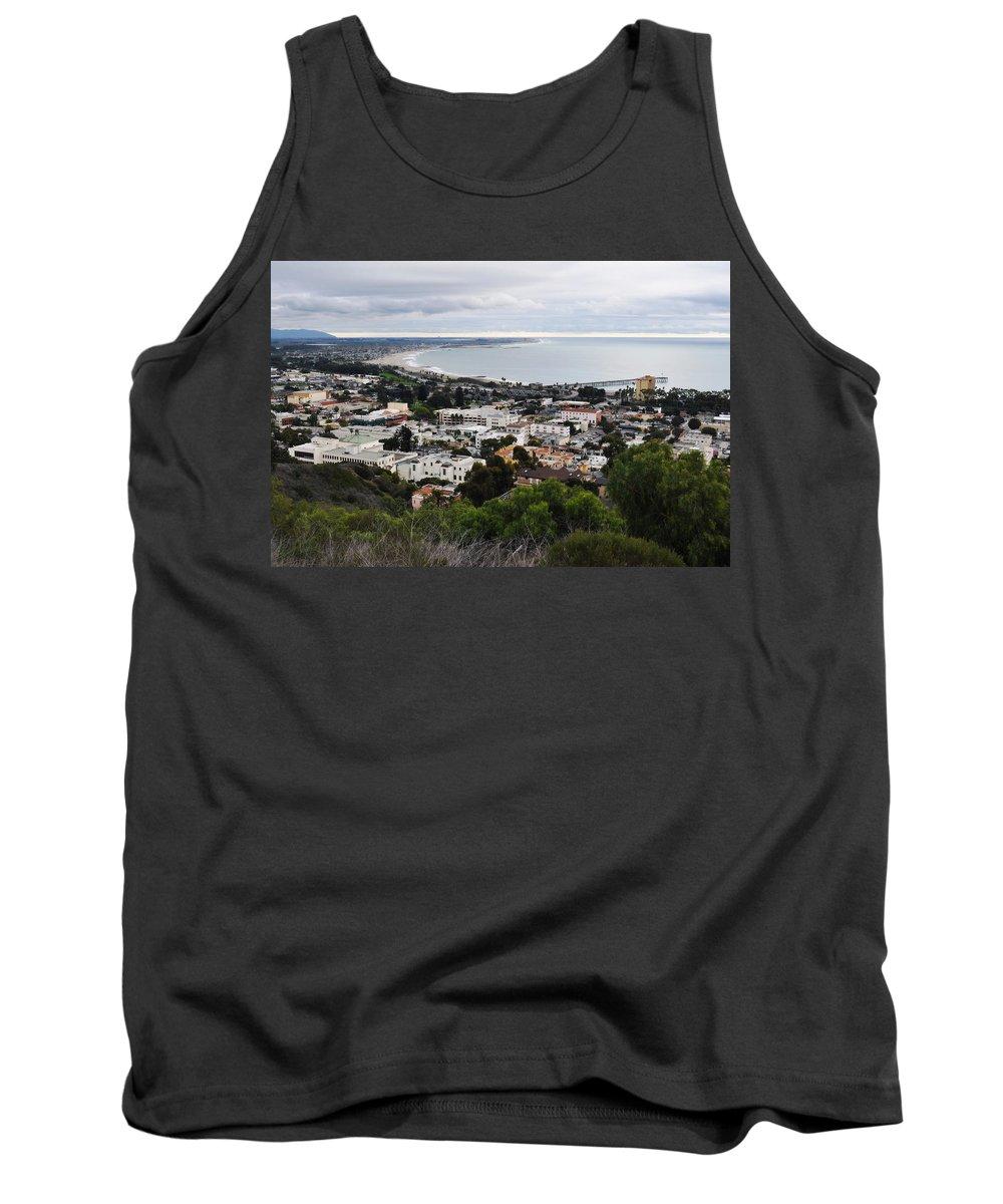 Ventura Tank Top featuring the photograph Ventura Coast Skyline by Kyle Hanson