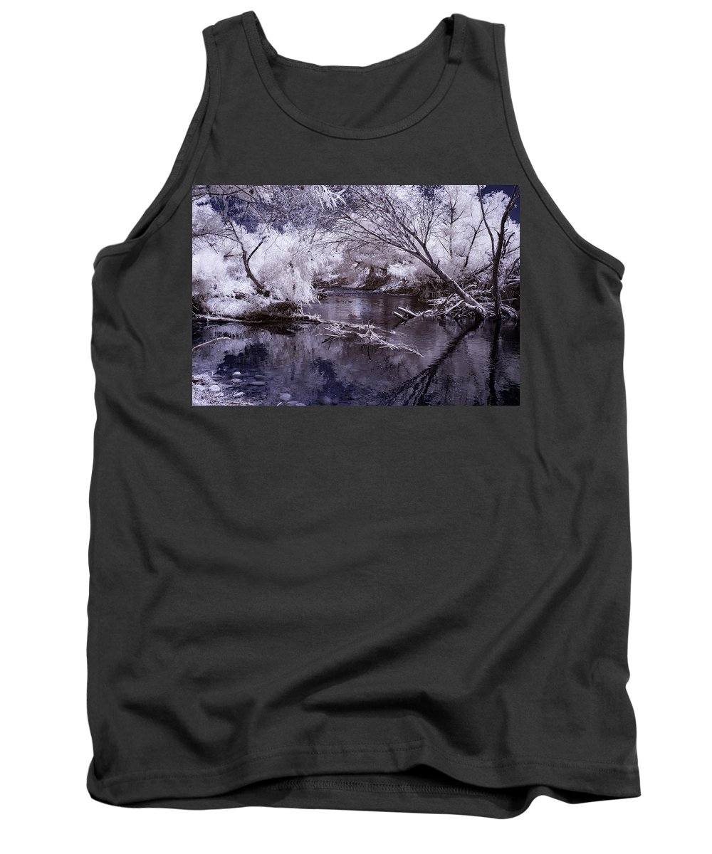 Arizona Tank Top featuring the photograph Verde Spring Reflections by Cathy Franklin
