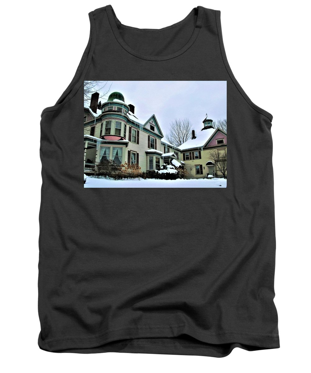 Victorian Tank Top featuring the photograph Victoria by Amanda Johnson