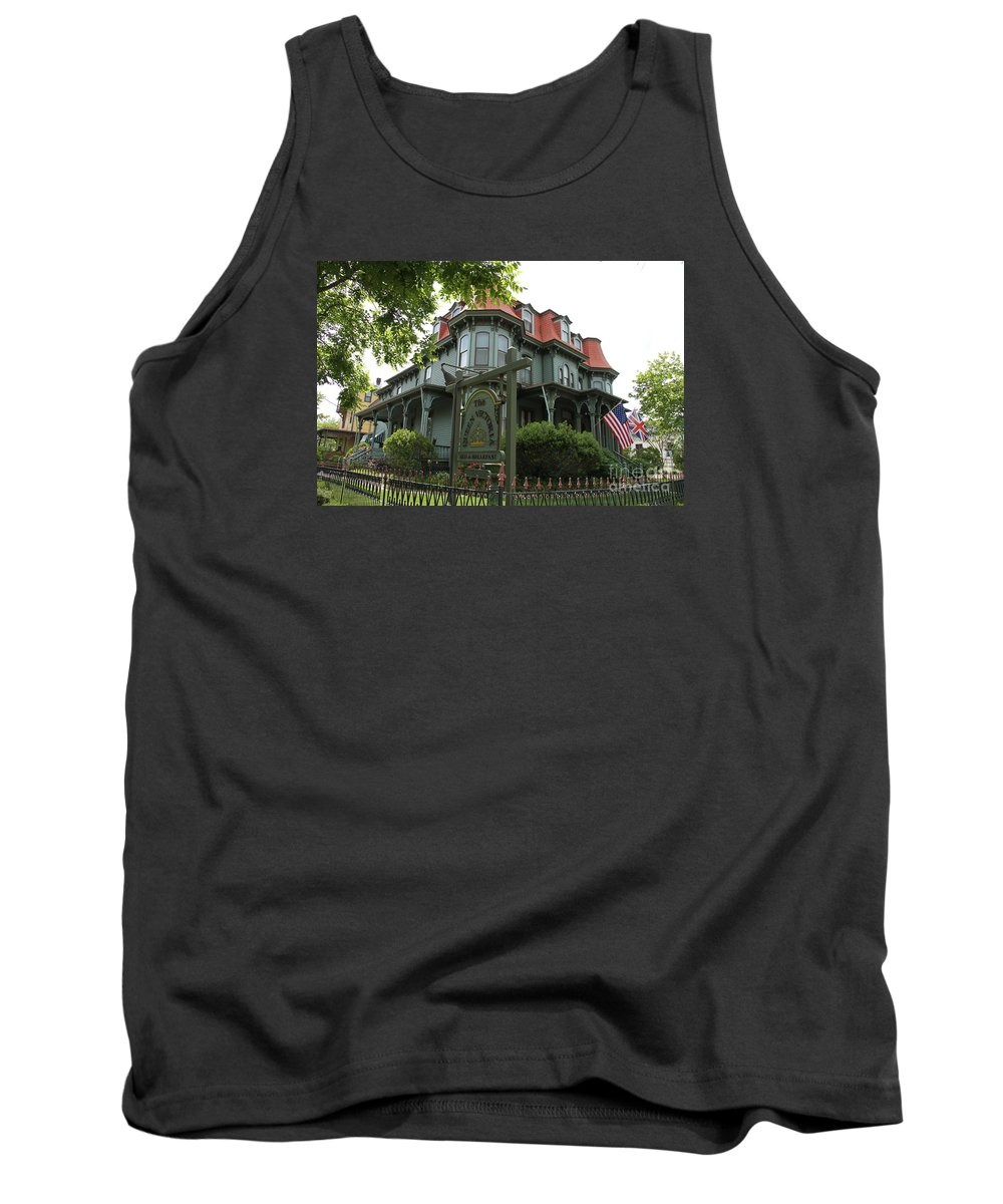 Victorian Guesthouse Tank Top featuring the photograph Victorian Guesthouse by Christiane Schulze Art And Photography