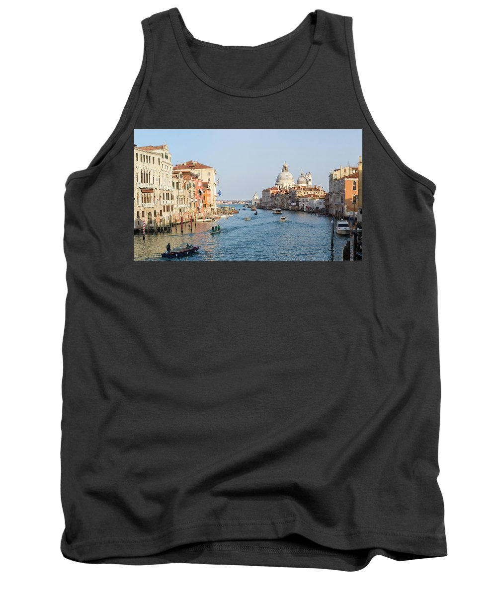 Italy Tank Top featuring the photograph View From Accademia Bridge by Chris Beard