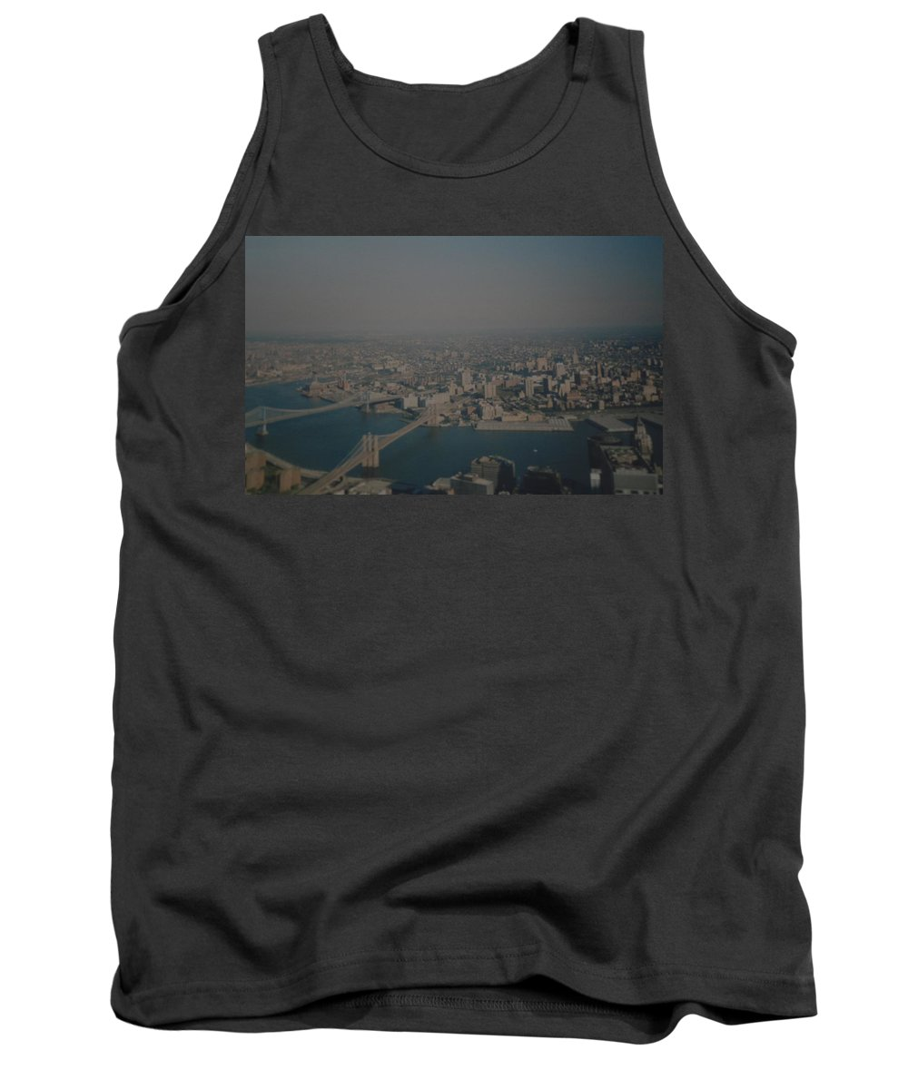 Wtc Tank Top featuring the photograph View From The W T C by Rob Hans