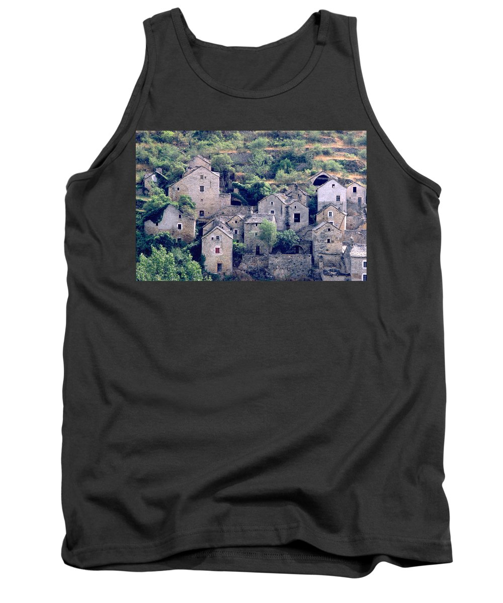 Village Tank Top featuring the photograph Village by Flavia Westerwelle