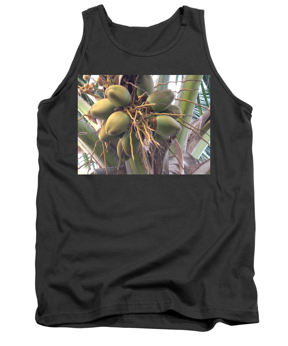 Palm Tank Top featuring the photograph Voluptuous by Ian MacDonald