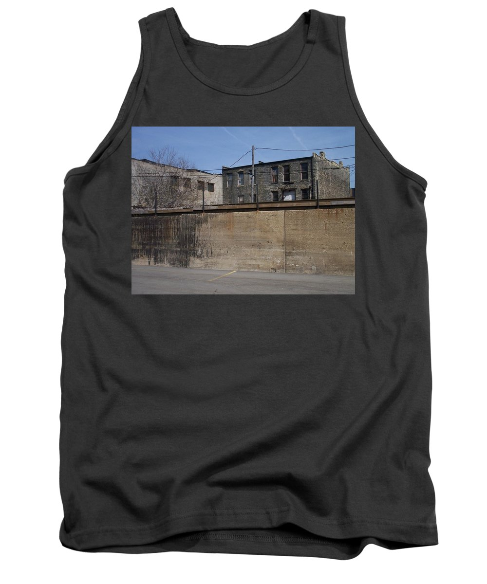 Walker's Point Tank Top featuring the photograph Walker's Point 1 by Anita Burgermeister