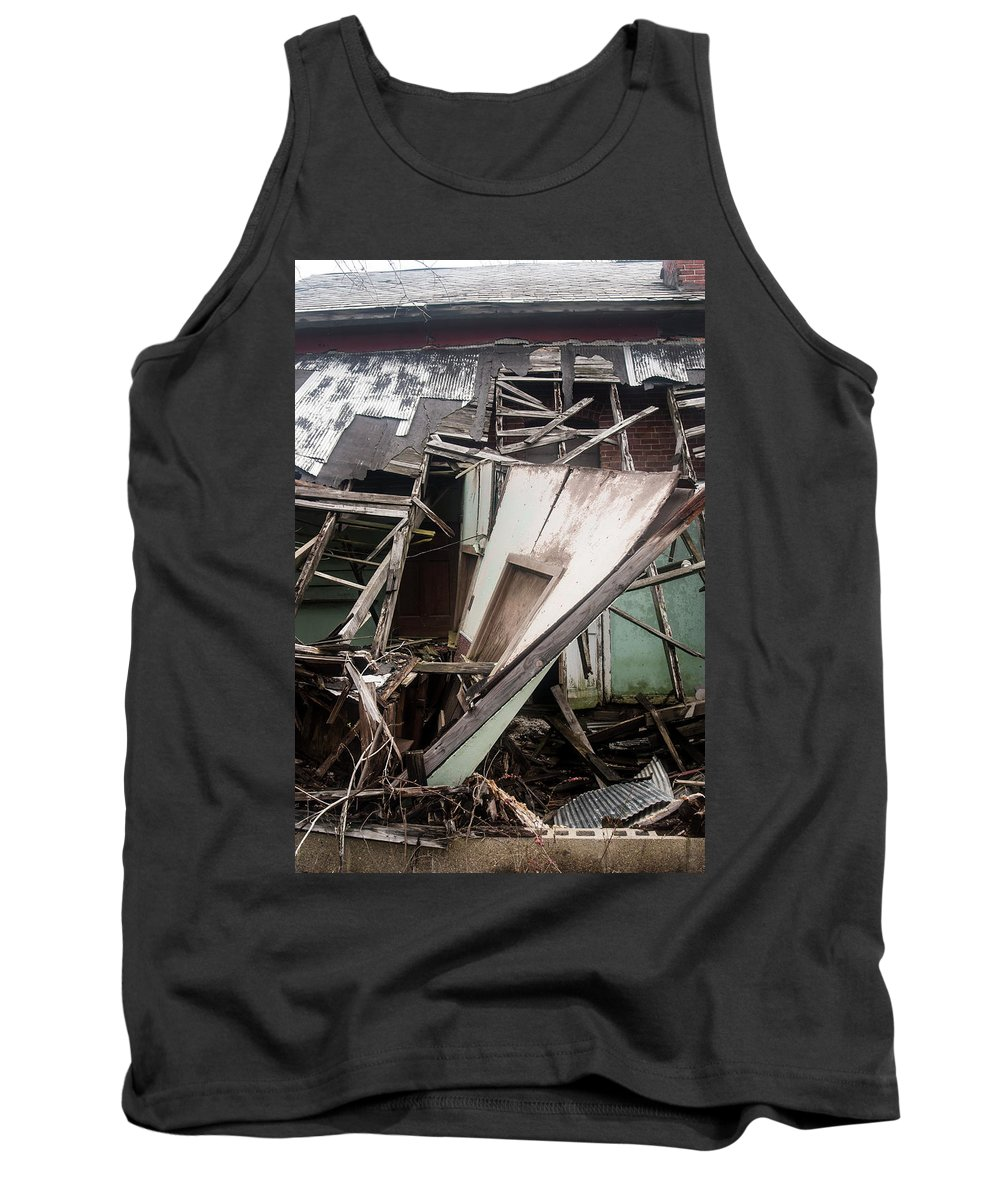 Tank Top featuring the photograph Wall by Melissa Newcomb