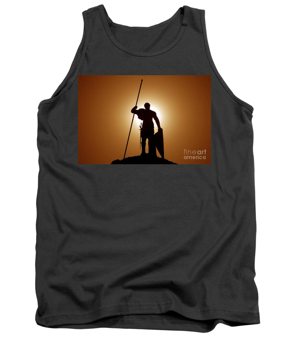 Warrior Tank Top featuring the photograph Warrior by David Lee Thompson