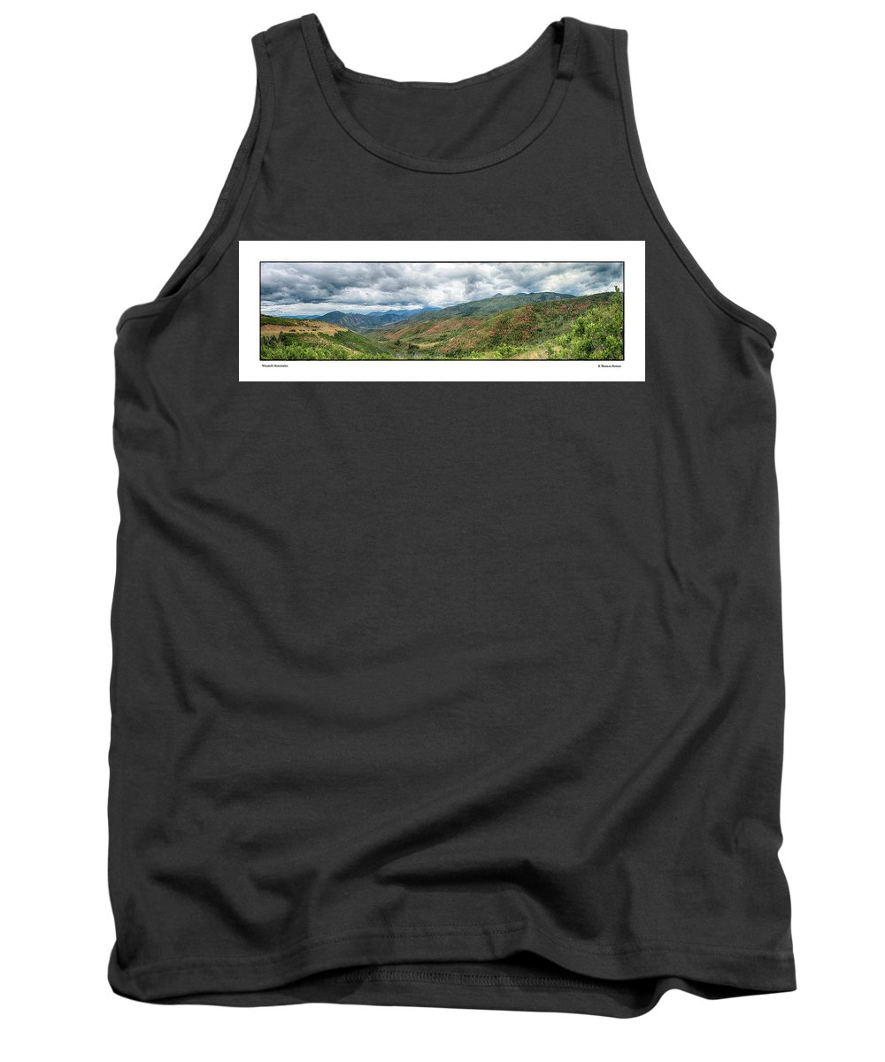 Mountains Tank Top featuring the photograph Wasatch Mountains by R Thomas Berner