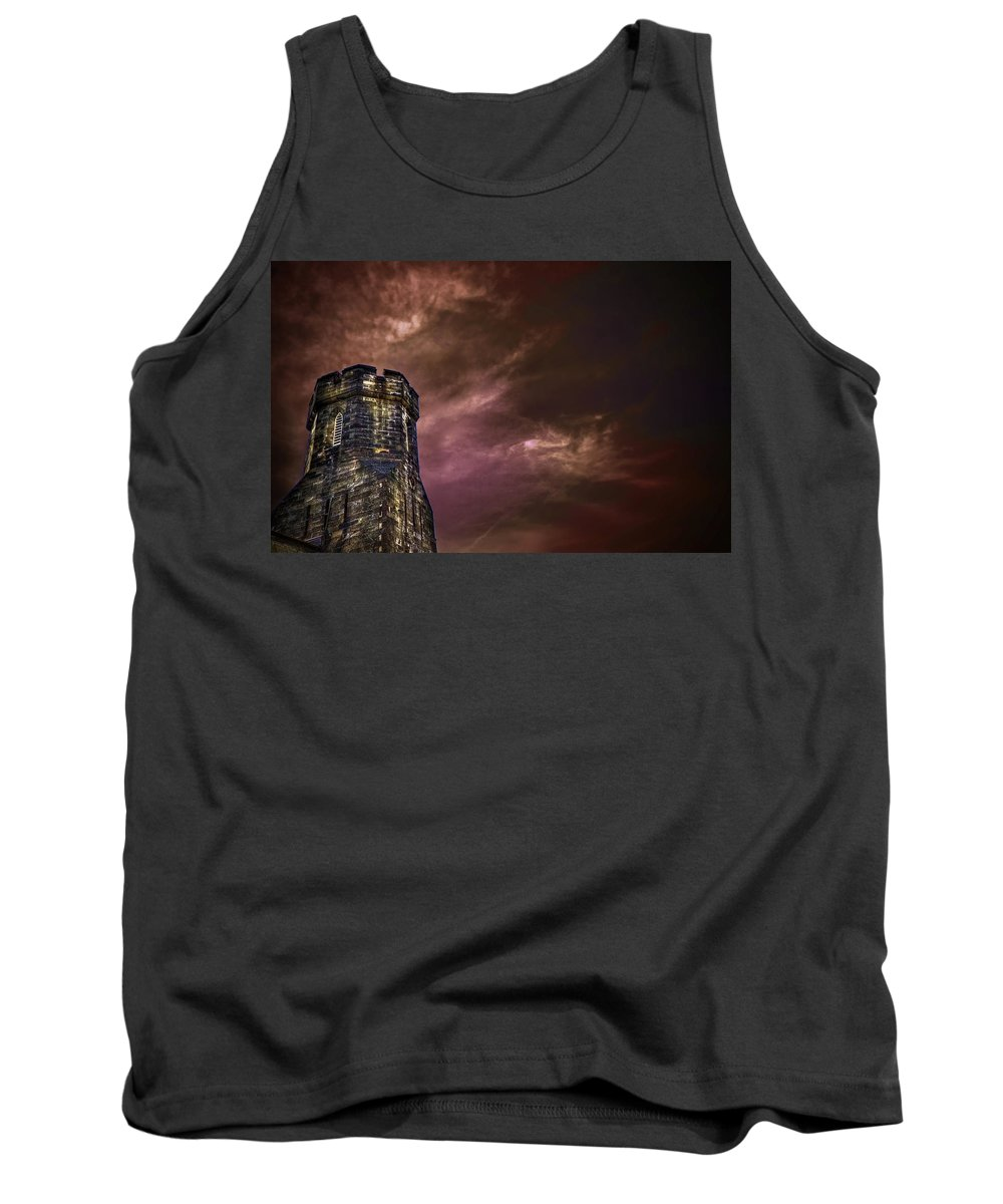 Tower Tank Top featuring the photograph Watchtower by Evelina Kremsdorf