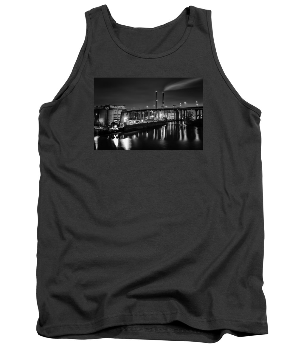 Www.cjschmit.com Tank Top featuring the photograph Water And Cement by CJ Schmit