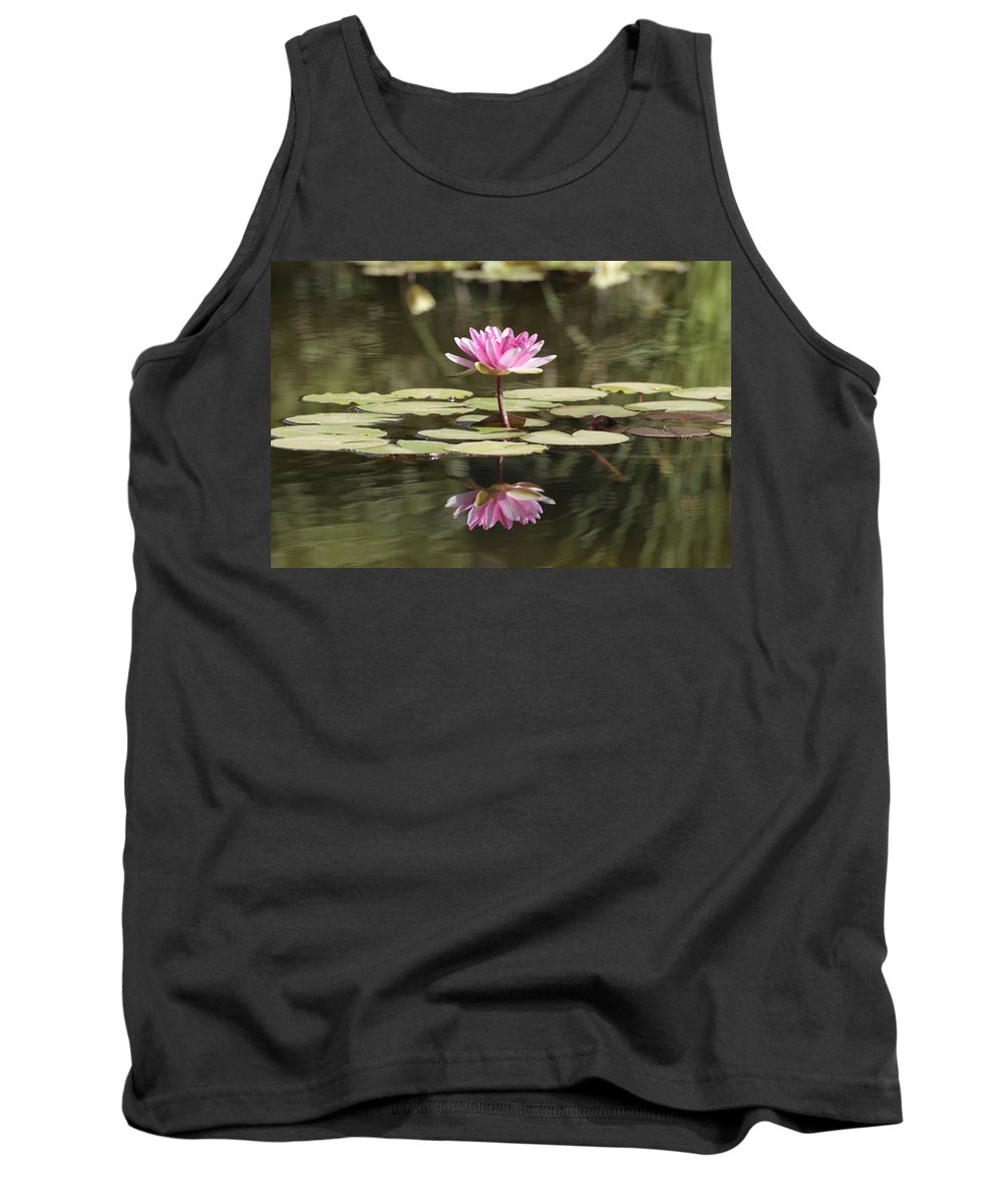 Lily Tank Top featuring the photograph Water Lily by Phil Crean