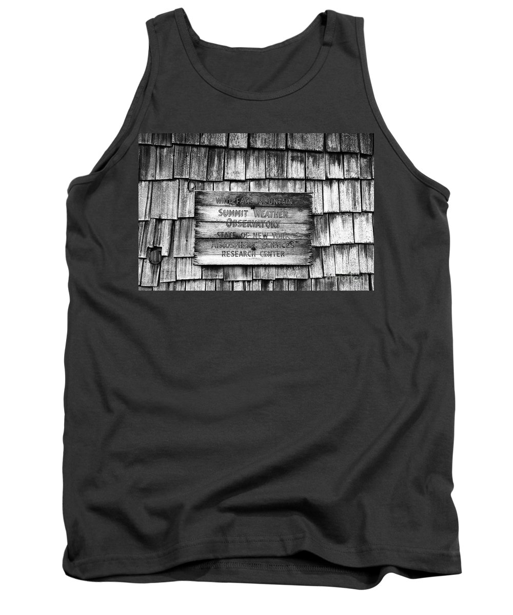 Weather Tank Top featuring the photograph Weathered by David Lee Thompson