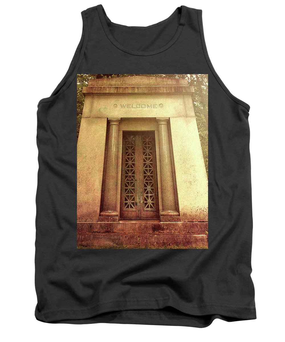 Dreamscape Tank Top featuring the photograph Welcome by Bob Orsillo