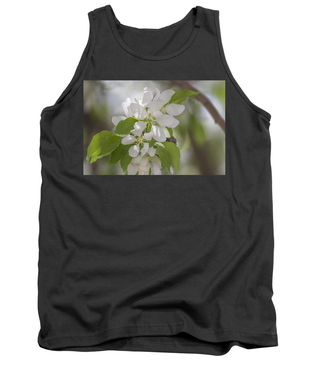 Flower Tank Top featuring the photograph Welcoming Spring - 2 by Becca Buecher