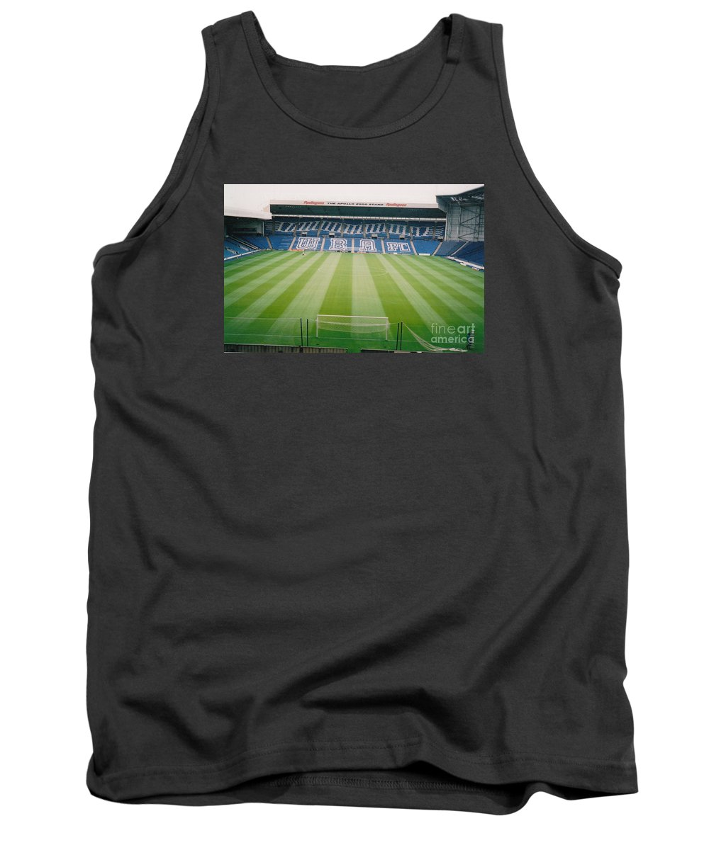 Tank Top featuring the photograph West Bromwich Albion - The Hawthorns - Brummie Road End 2 - August 2003 by Legendary Football Grounds