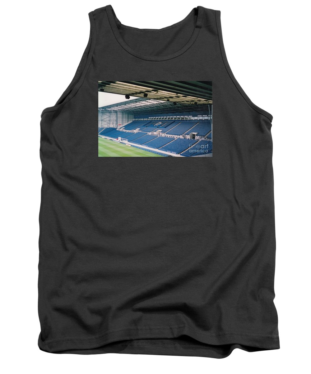 Tank Top featuring the photograph West Bromwich Albion - The Hawthorns - East Stand 1 - August 2003 by Legendary Football Grounds