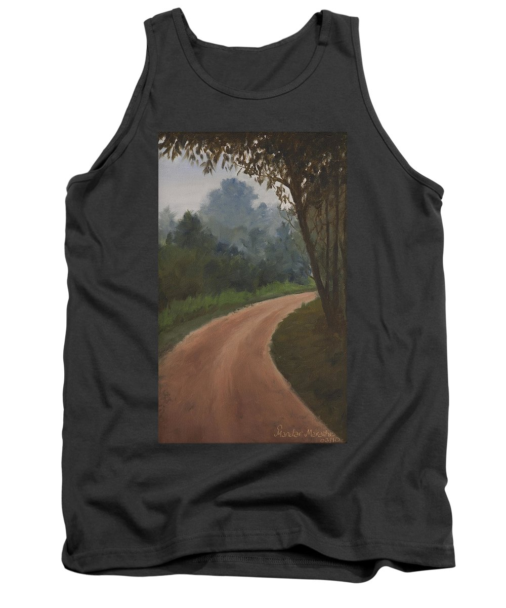 What Lies Ahead Tank Top featuring the painting What Lies Ahead by Mandar Marathe