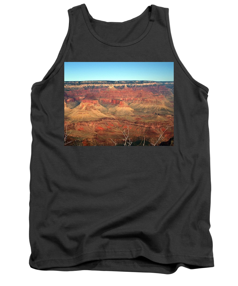 Grand Canyon Tank Top featuring the photograph Whata View by Shelley Jones