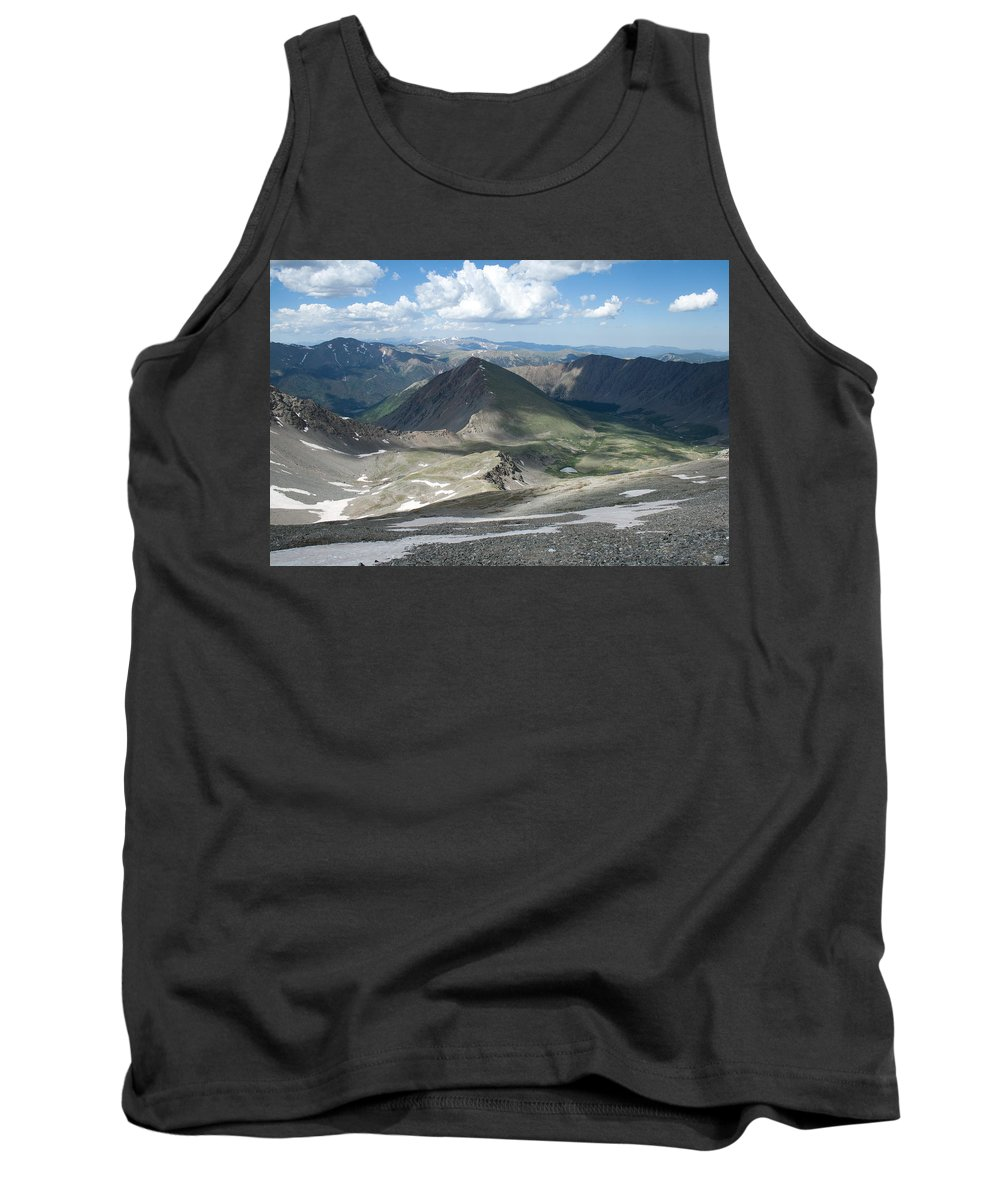 Grays Peak Tank Top featuring the photograph Where We Had Been by Angus Hooper Iii
