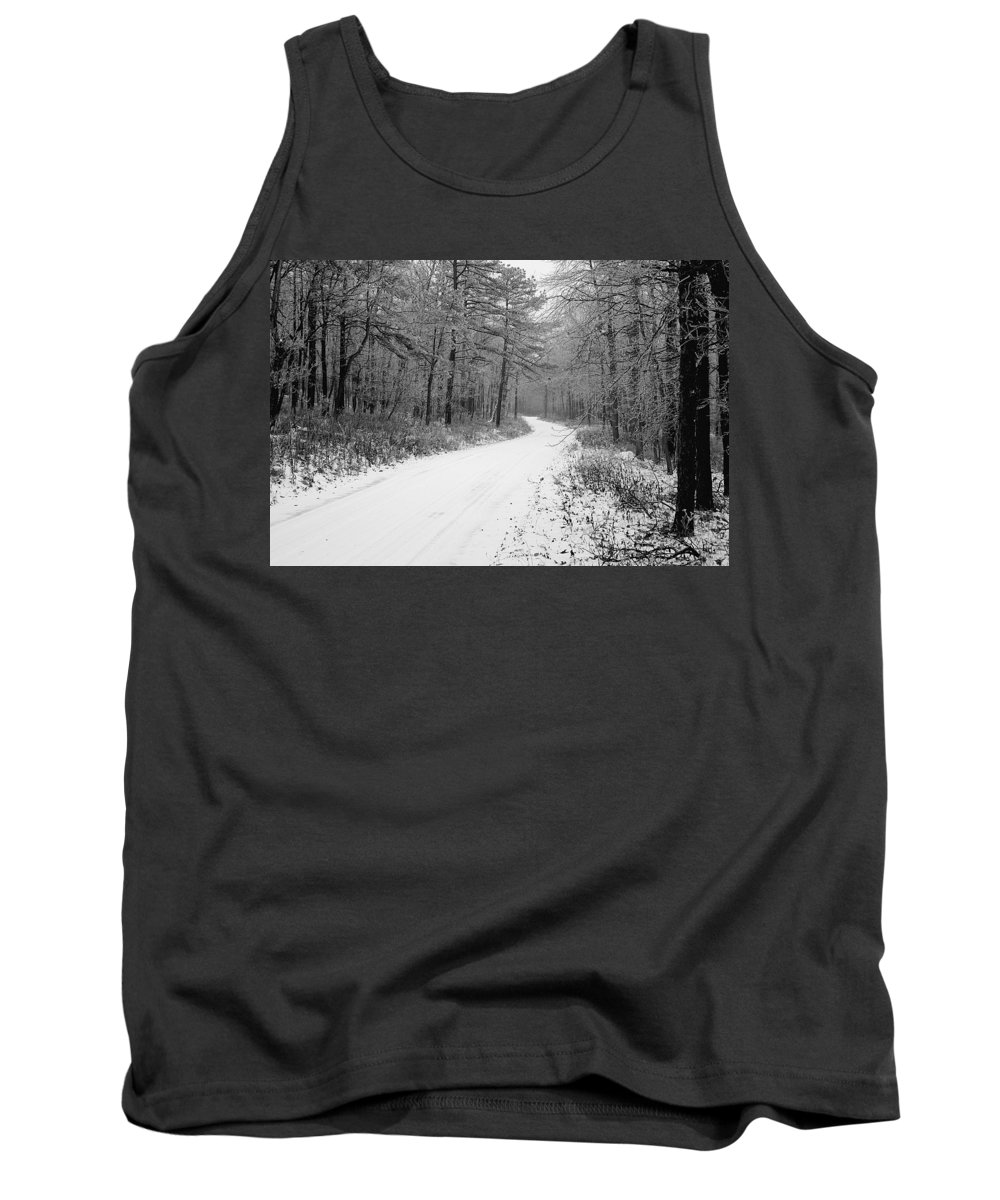 Winter Tank Top featuring the photograph Where Will It Lead by Jean Macaluso