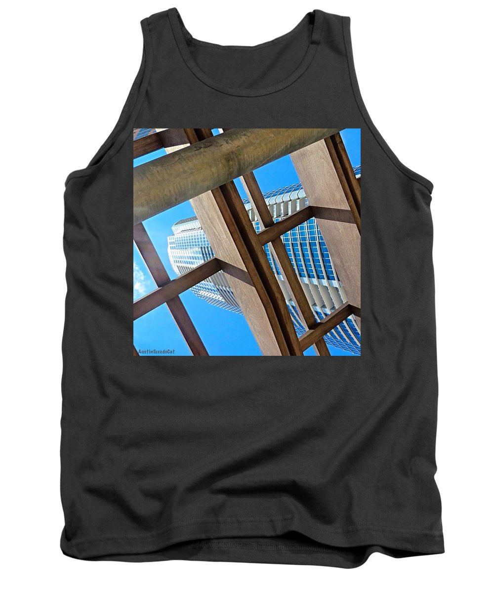 Urban Tank Top featuring the photograph #whplowaltitude, A #view Of A by Austin Tuxedo Cat