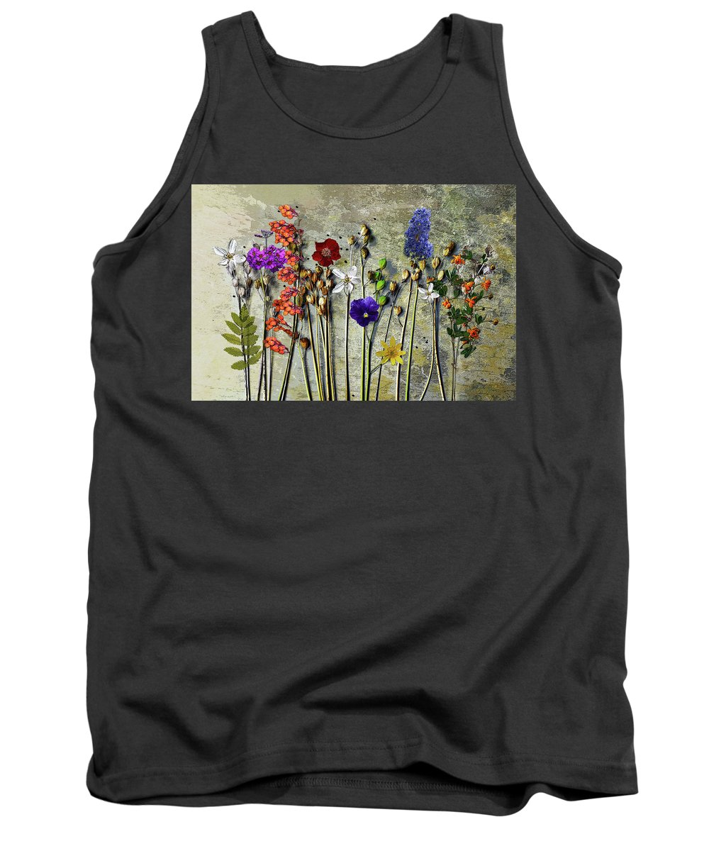 Wild Flowers Tank Top featuring the photograph Wild Flowers by Ludmila SHUMILOVA