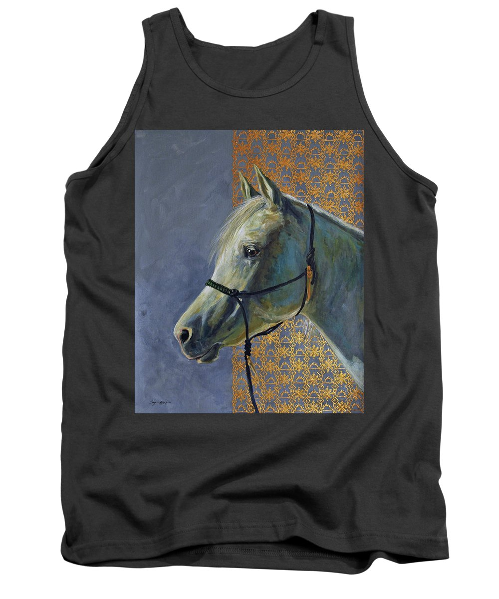 Acrylic Tank Top featuring the painting Willow In Winter by Suzanne McKee
