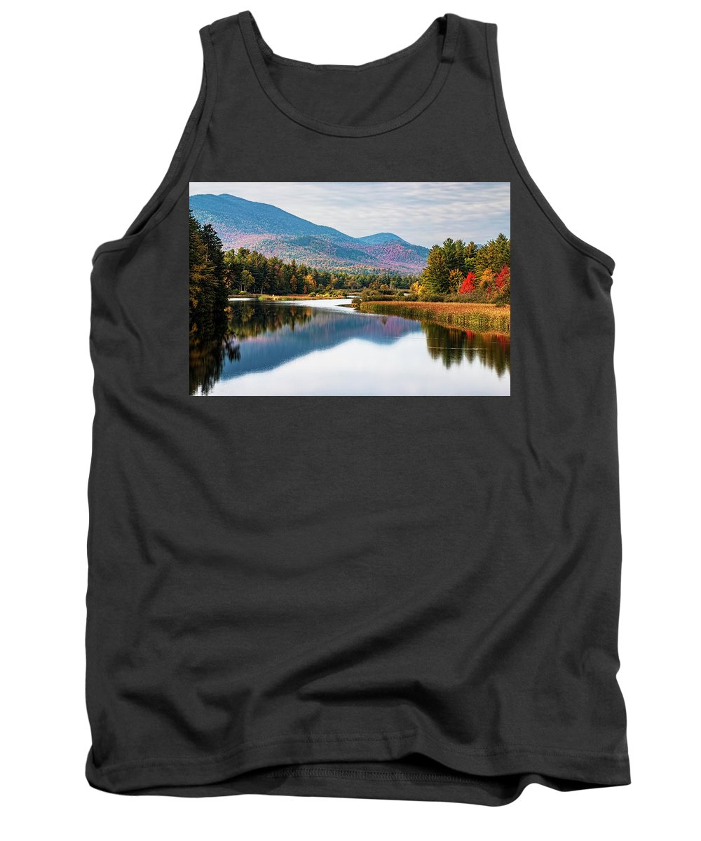 Wilmington Tank Top featuring the photograph Wilmington View by Tony Beaver