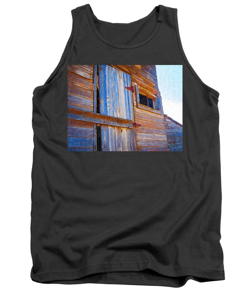 Window Tank Top featuring the photograph Window 3 by Susan Kinney